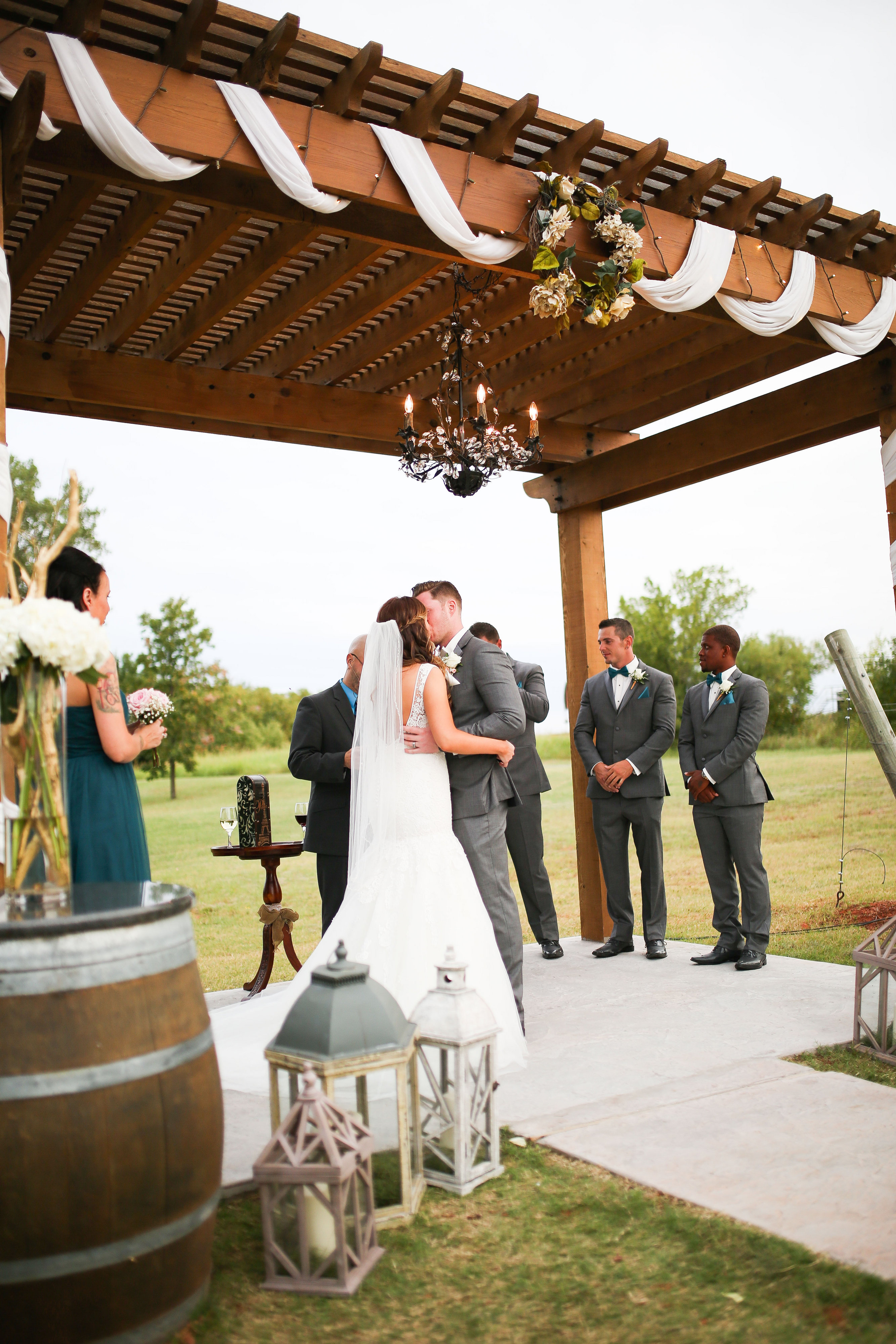 Vintage Rentals –  A Winery Wedding – Danielle & Sterling